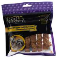 Rollover Chicken Wrapped Porkhide Twists - 6pk