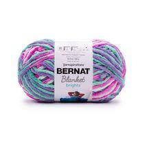Bernat Blanket Brights Yarn, Super Bulky, 10.5 oz, Unicorn Brights