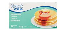 Great Value Frozen Buttermilk Pancakes