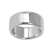 Sterling Silver Wide Band Ring 10
