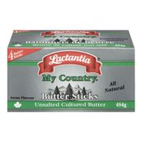 Lactantia® My Country Swiss Flavour Unsalted Butter Sticks