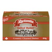 Lactantia® Country Churned Salted Butter Sticks