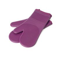 Paderno Oven Mitts, Set of 2 Purple