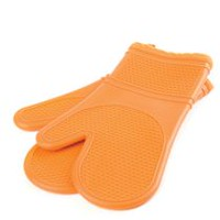Paderno Oven Mitts, Set of 2 Orange