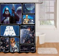Rideau de douche Star Wars