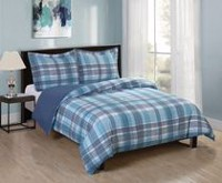 Mainstays Soft Touch Reversible Microfiber Duvet Cover Set Twin
