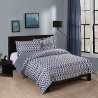 Mainstays Soft Touch Reversible Microfiber Duvet Cover Set King