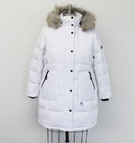 Canadiana Ladies' Plus size Down-Blend Quilted Parka White 2X
