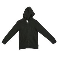 Athletic Works Boys' Zipper Hoodie Black 6