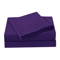Mainstays Kids Purple Microfiber Sheet Set