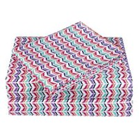 Mainstays Kids Chevron Microfiber Sheet Set Queen