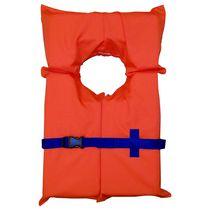 Gilet de nylon universel pour adulte en trou de serrure de Coleman – Orange