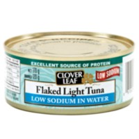 Clover Leaf Low Sodium Flaked Light Tuna