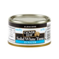 Clover Leaf Solid White Tuna, Albacore in Water