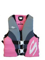 Coleman Adult Women'S Hydroprene Vest-Pink/Grey