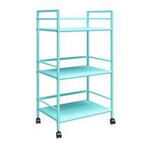 Cache Metal Rolling Cart, Blue