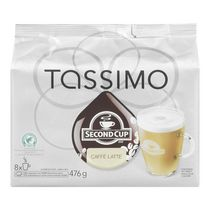 Tassimo Second Cup Caffè Latte T-Discs Coffee
