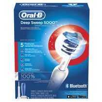 Oral-B Deep Sweep 5000 SmartSeries with Bluetooth Electric Rechargeable Power Toothbrush