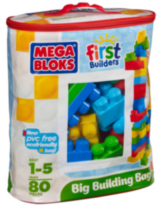 Mega Bloks - First builders - Gros sac de construction (08326)
