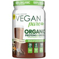 Vegan Pure Organic Protein & Greens Chocolate Shake