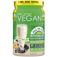 Vegan Pure All-in-one Cookies & Cream Nutritional Shake Powder