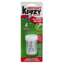 Krazy Glue All-Purpose - Single Use Tubes