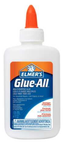 Elmer's Glue-All Multi-Purpose Glue, 120 mL (4 Oz.)