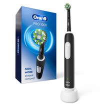 Oral-B Black 1000 CrossAction Rechargeable Electric Toothbrush