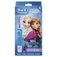 Oral-B Frozen Kids Electric Rechargeable Power Toothbrush Includes 2 Sensitive Clean Refills (for children 6+)
