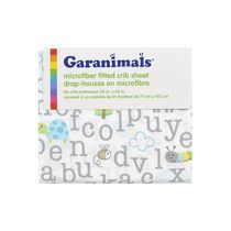 Garanimals Microfiber Fitted Crib Sheet Neutral