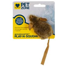 Jouet pour chats Play'n Squeak Mouse HunterMC de Pet Zone