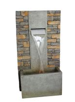 Henryka Outdoor Fountain with LED Lights