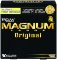 Trojan® Magnum® Original Lubricated Latex Value Pack Condoms