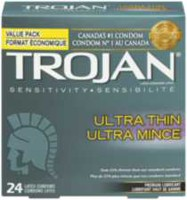 Trojan Sensitivity Ultra Thin Lubricated Latex Value Pack Condoms