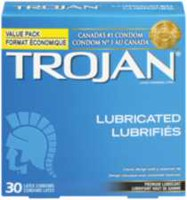Trojan® Lubricated Premium Lubricated Latex Value Pack Condoms