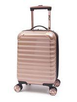 "iFLY Hardside Kids Fibertech Luggage 20"", Rose Gold"