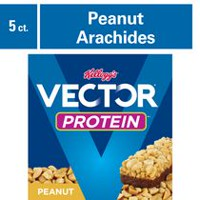 Kellogg's Vector Protein Chewy bars, Peanut - 200g 5 bars