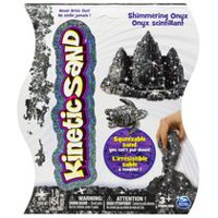 Kinetic Sand 1 lb Shimmering Onyx Black Squeezable Sand