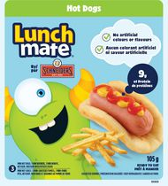 Trousse-repas - hot-dogs Lunch Mate Schneiders