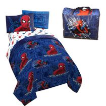 spiderman homecoming bed in a bag set