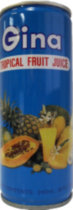 Tropical Fruit Juice 240mL