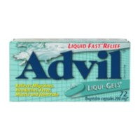 Advil Liqui Gels 72's
