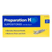 Preparation H Suppositories Pack