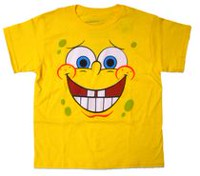 Spongebob Boys Short Sleeve Crew Neck T-Shirt 5