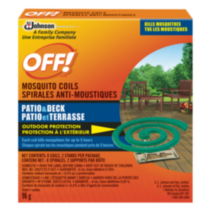 OFF!® Mosquito Coils - 8 coils and 2 stands