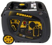 Firman Power Equipment Whisper Series W03081 Gas Powered 3300/3000 Watt Extended Run Time Inverter Generator