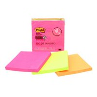 Post-it® 654-3SSPK1-C Super Sticky Notes