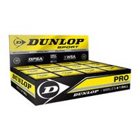 Dunlop Sport Pro Double Yellow Dot Squash Balls