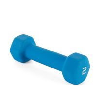 CAP Barbell Neoprene Coated Dumbbell Blue-2lbs