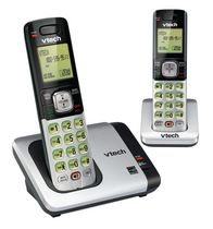 VTech 2 Handset Cordless Phone System with Caller ID/Call Waiting-CS6719-2